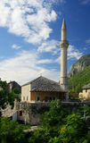 Mostar mosque Stock Images
