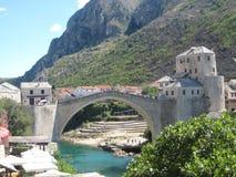 Mostar most Obraz Stock