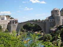 Mostar most Zdjęcie Stock