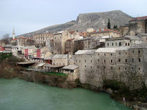 Mostar Old Town Royalty Free Stock Images