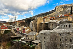 Mostar Old Town Architecture Stock Photo