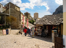 Mostar old town, Bosnia and Herzegovina Stock Image