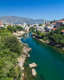 Mostar Skyline during the day Royalty Free Stock Images