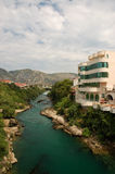 Mostar after the storm. Bosnia and Herzegovina Royalty Free Stock Image