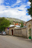 Mostar Street Royalty Free Stock Photography