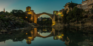 Mostar Sunset I Royalty Free Stock Images