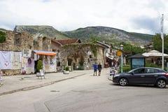 Mostar ulica Zdjęcia Stock