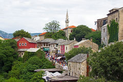 Mostar View Royalty Free Stock Photo