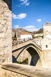 Mostars överbryggar Royaltyfri Bild