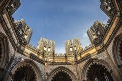 Mosteiro da Batalha, Portogallo Fotografia Stock Libera da Diritti