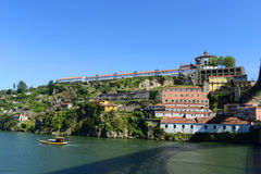 Mosteiro da Serra做毛发,波尔图,葡萄牙 库存图片