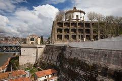 Mosteiro da Serra do Pilar in Porto Royalty Free Stock Photos