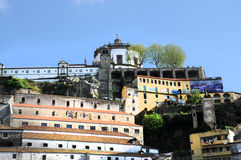 Mosteiro da Serra gör Pilar royaltyfri fotografi