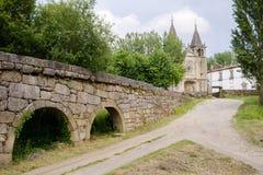 Mosteiro de Pombeiro Fotos de archivo