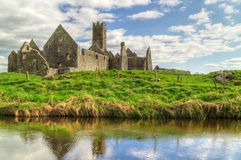 Mosteiro de Ross Errilly fotos de stock royalty free