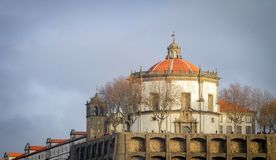 Mosteiro a Dinamarca Serra faz Pilar imagens de stock