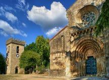 Mosteiro do Salvador de Paco de Sousa royalty free stock image