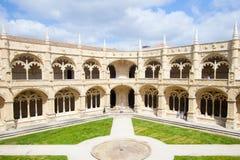 Mosteiro dos Geronimos Stock Photography