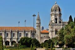 Mosteiro DOS Jerónimos Stockfotografie