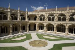 Mosteiro dos Jerónimos Royalty Free Stock Photo