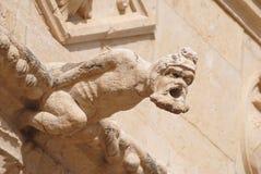 Mosteiro dos Jeronimos面貌古怪的人在里斯本 库存图片