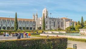 Mosteiro dos Jeronimos,位于里斯本贝拉母区,葡萄牙 影视素材
