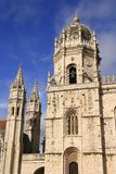 The Mosteiro dos Jeronimos Royalty Free Stock Photography