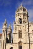 The Mosteiro dos Jeronimos Royalty Free Stock Photography