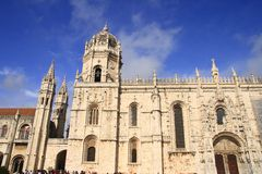 The Mosteiro dos Jeronimos Stock Images