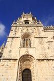 The Mosteiro dos Jeronimos Stock Photography