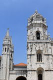 Mosteiro dos Jeronimos. In Lisbon, Portugal stock photography
