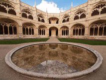 Mosteiro dos Jeronimos Royalty Free Stock Photography