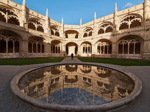 Mosteiro dos Jeronimos. The Hieronymites Monastery (Mosteiro dos Jeronimos), located in the Belem district of Lisbon, Portugal. Typical example of the Manueline Stock Images