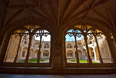 Mosteiro dos Jeronimos Royalty Free Stock Photos
