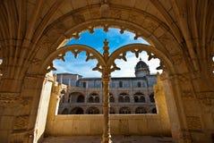 Mosteiro dos Jeronimos Obrazy Stock