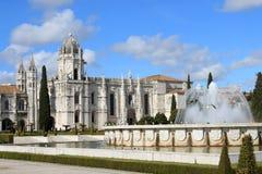 Mosteiro DOS Jeronimos Arkivfoto