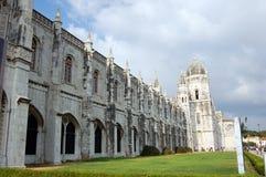 Mosteiro DOS Jeronimos (Lisboa) Arkivfoton