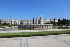 Mosteiro Dos Jeronimos. Lisbon Stock Image