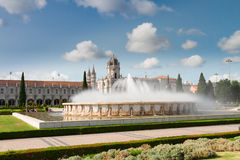 Mosteiro dos Jeronimos in Lisbon, Portugal Stock Photo