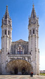 Mosteiro dos Jeronimos Lisbon Portugal Stock Image