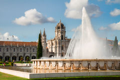 Mosteiro dos Jeronimos in Lisbon, Portugal Royalty Free Stock Images