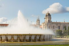 Mosteiro dos Jeronimos in Lisbon, Portugal Stock Photos