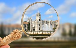 The Mosteiro dos Jeronimos Royalty Free Stock Images