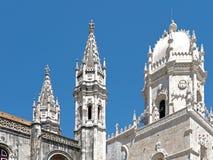 Mosteiro dos Jeronimos, monaster w Belem w Lisbon obraz royalty free
