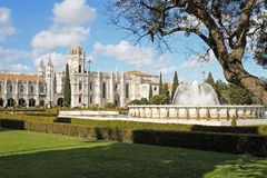 The Mosteiro dos Jeronimos Royalty Free Stock Photo