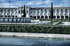 Mosteiro dos Jeronimos, an old monastery in Belem; Lisbon, Portu Royalty Free Stock Photo