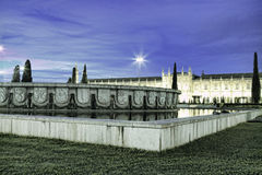 Mosteiro dos Jeronimos, an old monastery in Belem; Lisbon, Portu Stock Images