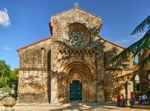 Mosteiro gör Salvador de Paco de Sousa royaltyfri foto