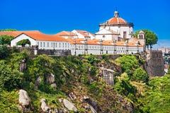 Mosteiro Serra do Pilar. Mosteiro da Serra do Pilar, Porto, Portugal Stock Images