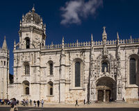 Mosteirodos Jeronimos Lissabon Portugal Royalty-vrije Stock Afbeelding
